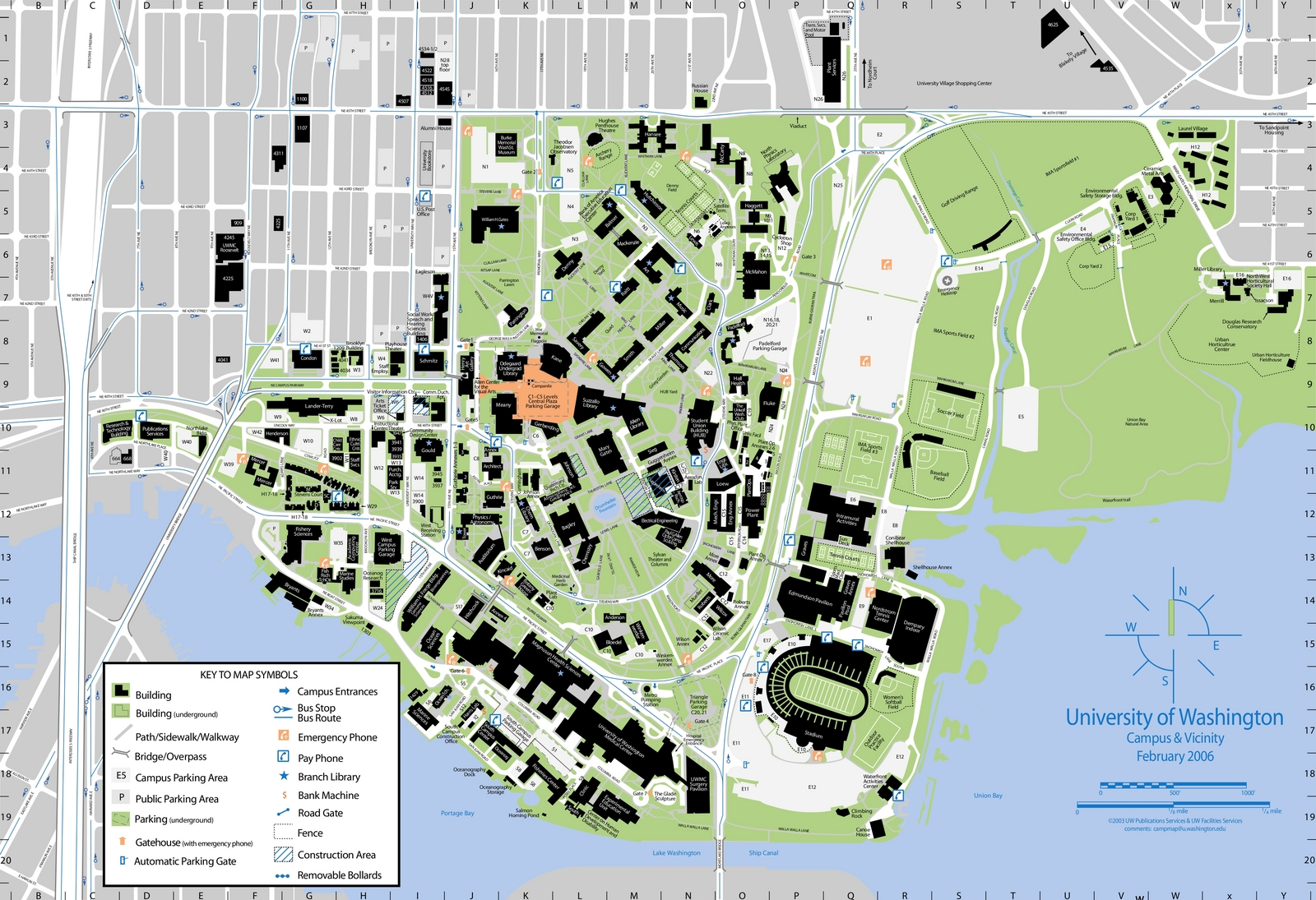 Map Of University Of Washington My blog